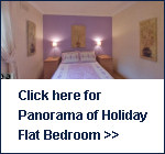 Click here to see panorama of the Holiday Flat